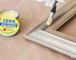 Pintar marco con efecto envejecido