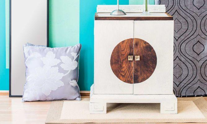 Pintar un mueble de estilo oriental hogarmania for Muebles de estilo oriental