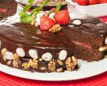 Tarta de chocolate 100%