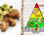 Conejo con patatas y pimientos, aporte de proteínas y energía
