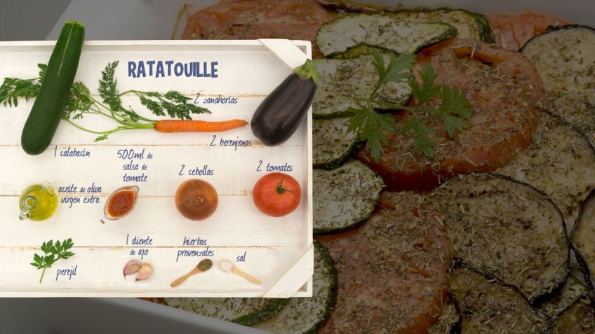 Ratatouille - Ingredientes