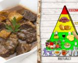 Carne al toro, plato rico en proteínas