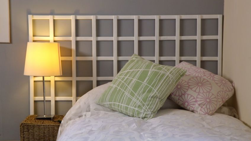 Cabeceros de cama economicos awesome cmo hacer un cabecero habitacin cama madera pals cabecero - Como hacer un cabecero de cama economico ...