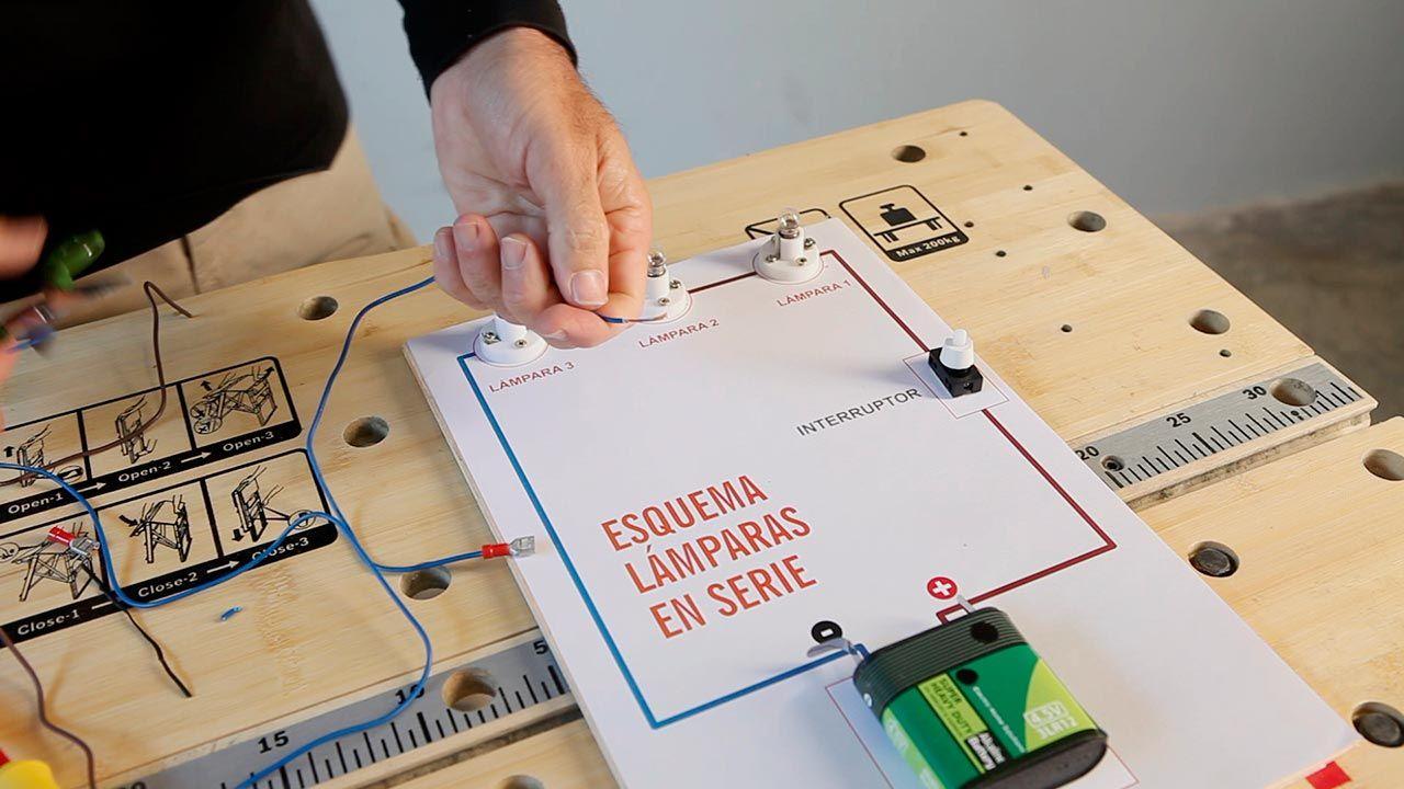 Circuito Electrico En Serie : Cómo funciona un circuito eléctrico en serie paso 1