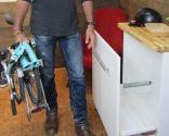 Mueble guarda-bici
