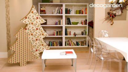 Ideas Para Hacer Un Arbol De Navidad Bricomania - Hacer-un-arbol-de-navidad-original