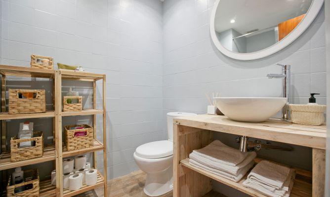 Decorar Baño Rustico:Decorar baño pequeño de estilo rústico – Decogarden