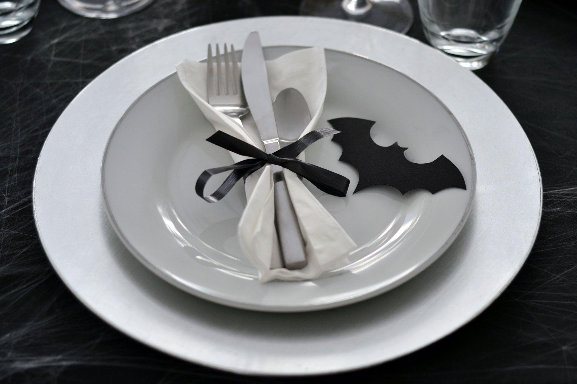 vajilla mesa halloween