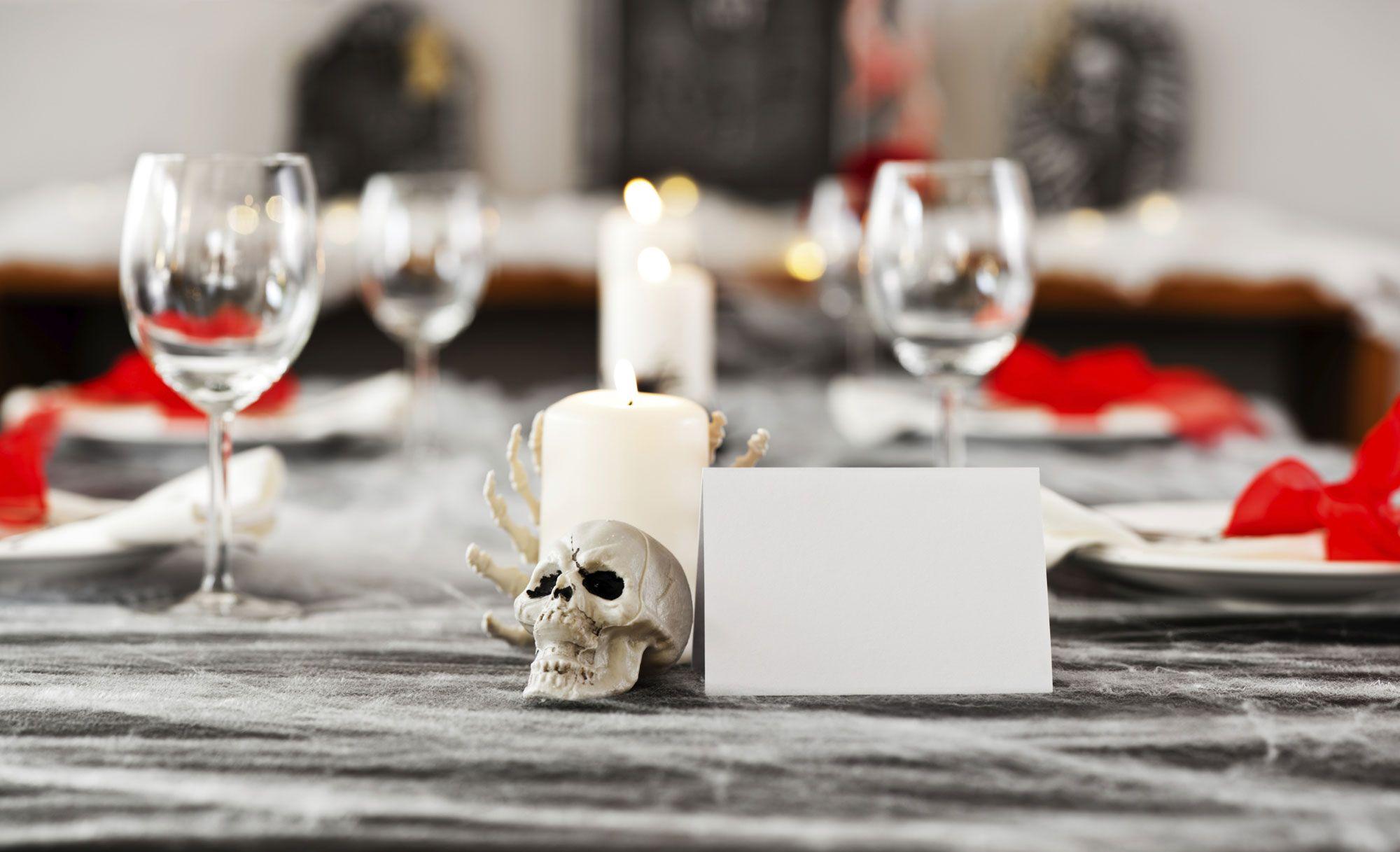 Decorar mesa y comedor para Halloween