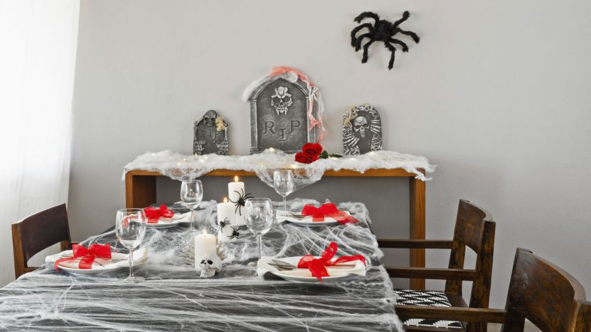 Decorar mesa y comedor para Halloween - Hogarmania