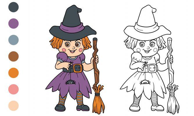 Dibujos De Halloween Para Colorear Hogarmania