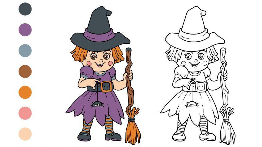 Dibujos de Halloween para colorear - Hogarmania