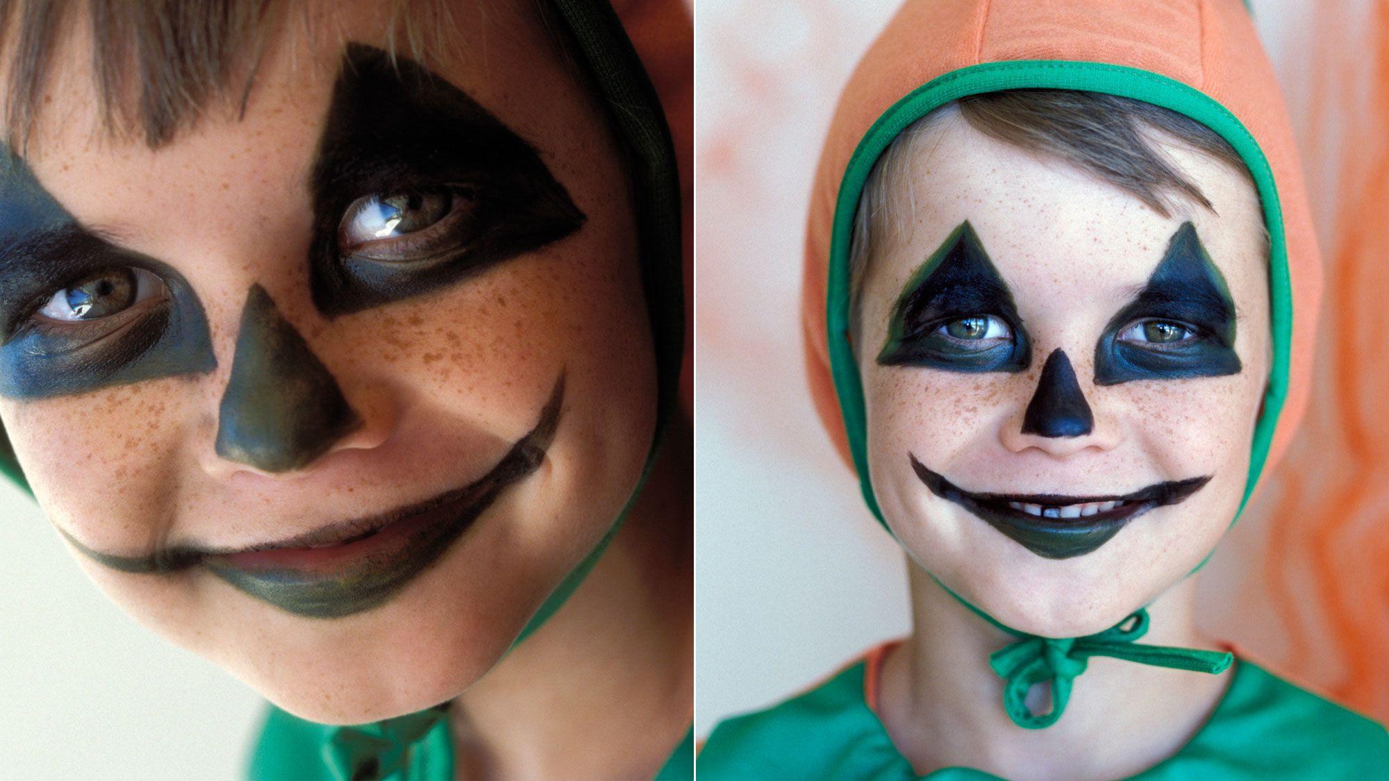 maquillaje halloween calabaza