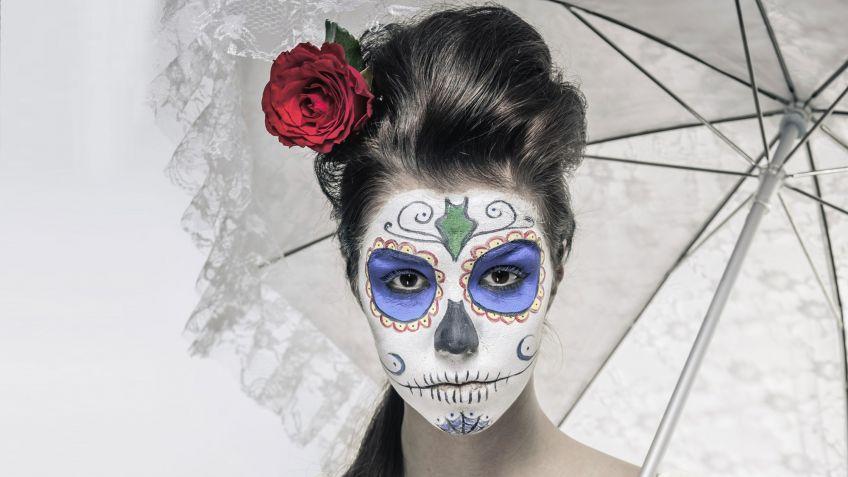 Maquillaje de Catrina, consigue el look de calavera mexicana ...