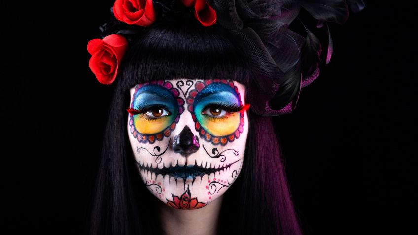 Looks de maquillaje para disfraz de Catrina
