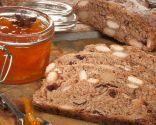 Pan integral con frutos secos