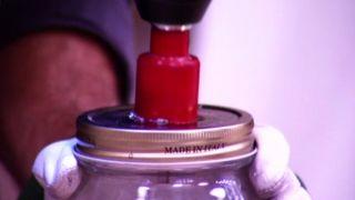Cómo hacer lámparas con tarros de cristal - Paso 2
