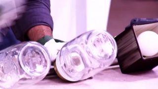 Cómo hacer lámparas con tarros de cristal - Paso 5