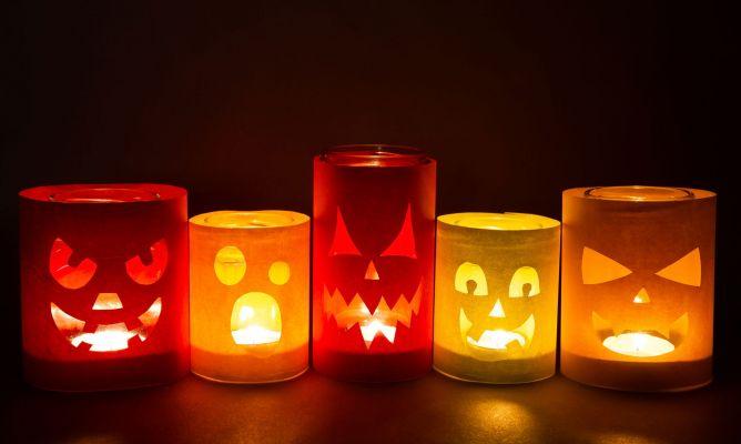 Vasos De Cristal Decorados Para Halloween