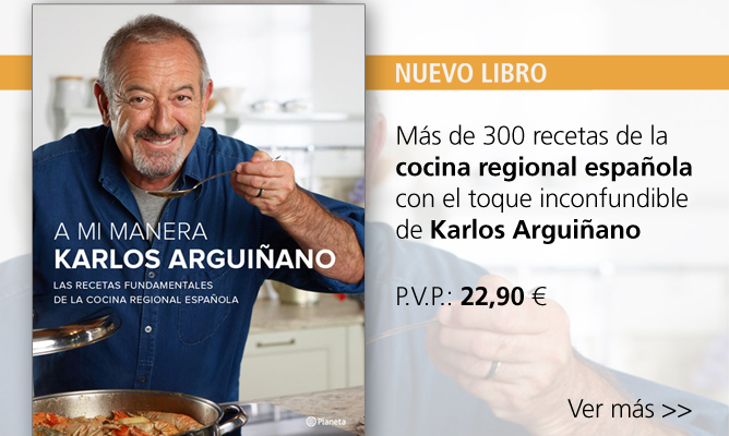 Nuevo libro de Karlos Arguiñano