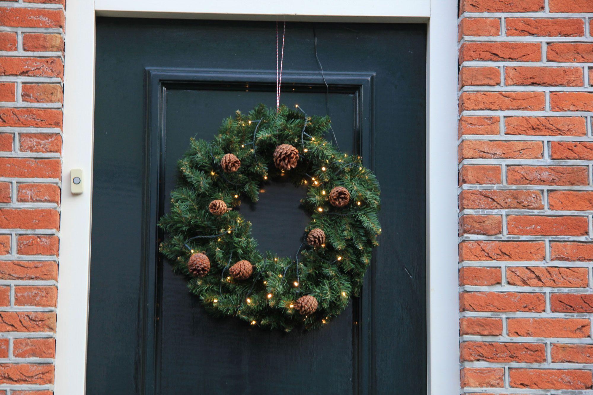 Adornos navideños para el exterior