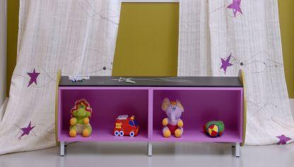 habitacin infantil divertida con ambiente navideo