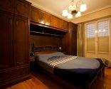 Dormitorio romántico con aires orientales