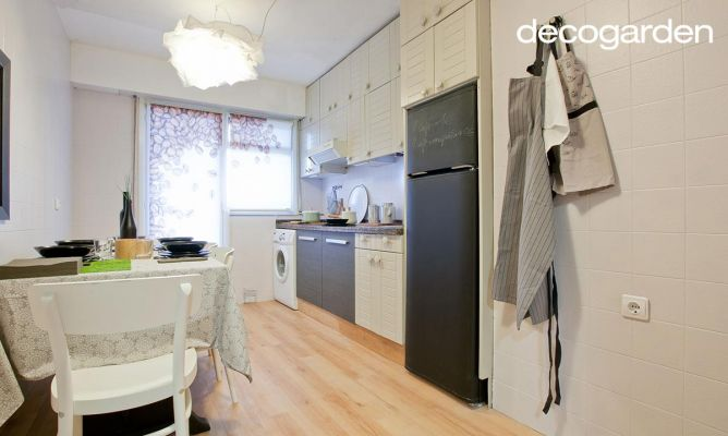 Actualizar la cocina reutilizando muebles decogarden - Cambiar muebles cocina ...