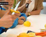 Decoración con frutas: Cómo hacer un ratón con un limón - Paso 2