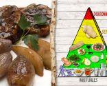 Atadito de pollo relleno al Oporto, plato rico en proteínas