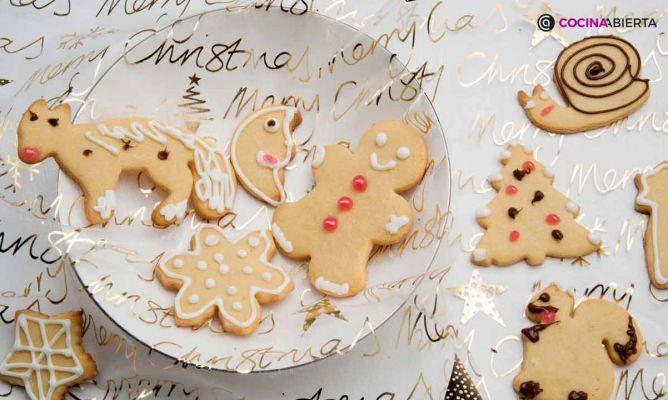 Receta de Galletas de Navidad width=