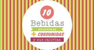 10 bebidas con alcohol m�s consumidas y sus calor�as
