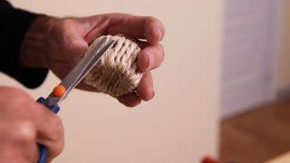 Cómo hacer servilleteros de cuerda
