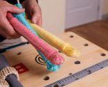 Hacer servilleteros de cuerda