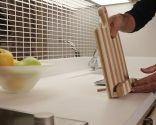 Cómo hacer un atril de cocina de madera
