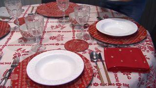 Salón comedor navideño - Paso 9