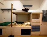 Habitación infantil de temática pirata
