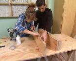 Decorar un estudio luminoso en madera
