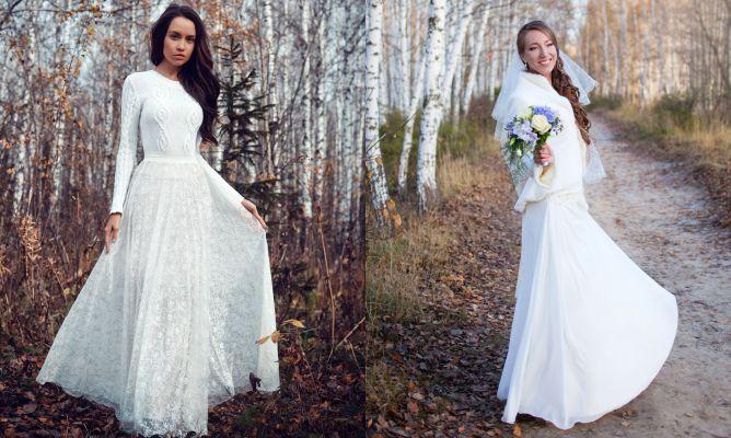d33449df Cómo llevar el vestido de novia en bodas de invierno - Hogarmania