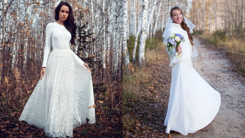 Boda vestidos invierno