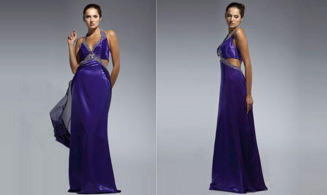 Acortar un vestido largo fiesta