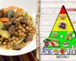 Garbanzos con verduras e higadillos, para personas con anemia