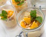 Vasitos de yogur y fruta