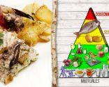 Besugo con patatas, plato saludable recomendado para todos