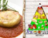 Patatas rellenas, plato saludable y nutritivo
