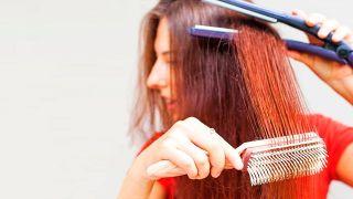 Cómo alisar el pelo en casa con plancha GHD