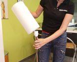 Arreglo lámpara mesita auxiliar - Paso 8