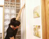 Cómo colocar cantoneras en una pared - Paso 1