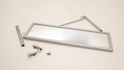 Interior de armario empotrado bricoman a - Como colocar un espejo encima de un aparador ...