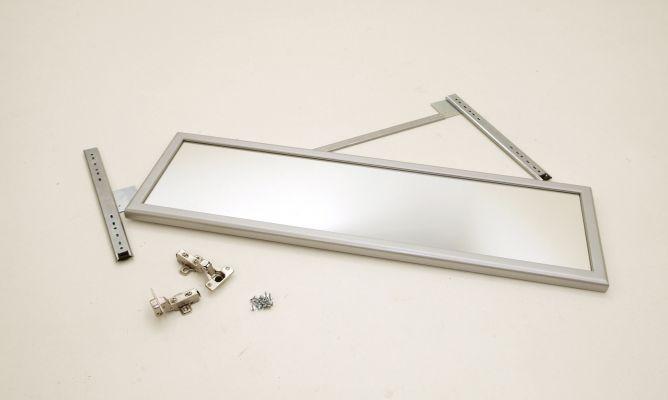 C mo colocar un espejo extra ble en un armario bricoman a for Espejo para pegar en puerta